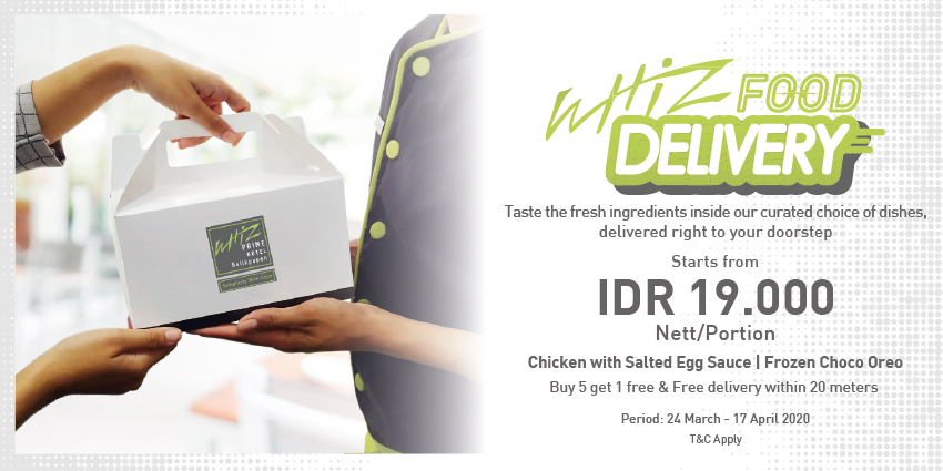 Whiz Food Delivery